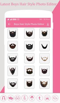 Boys Hairstyle Photo Editor screenshot 2