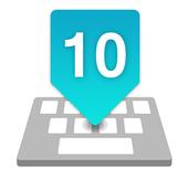 iOS 10 Keyboard icon