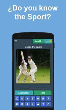 Guess the Sport screenshot 1