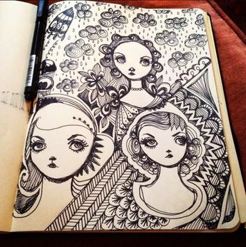 Creative Art Drawing Ideas screenshot 5