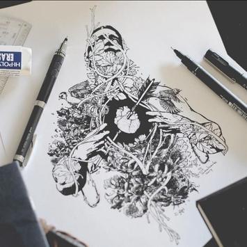 Creative Art Drawing Ideas poster