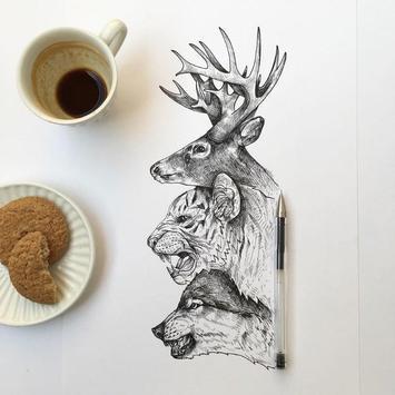 Creative Art Drawing Ideas screenshot 2