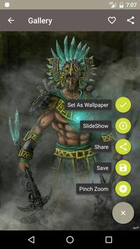 Aztec Warrior Wallpaper HD Poster Apk Screenshot