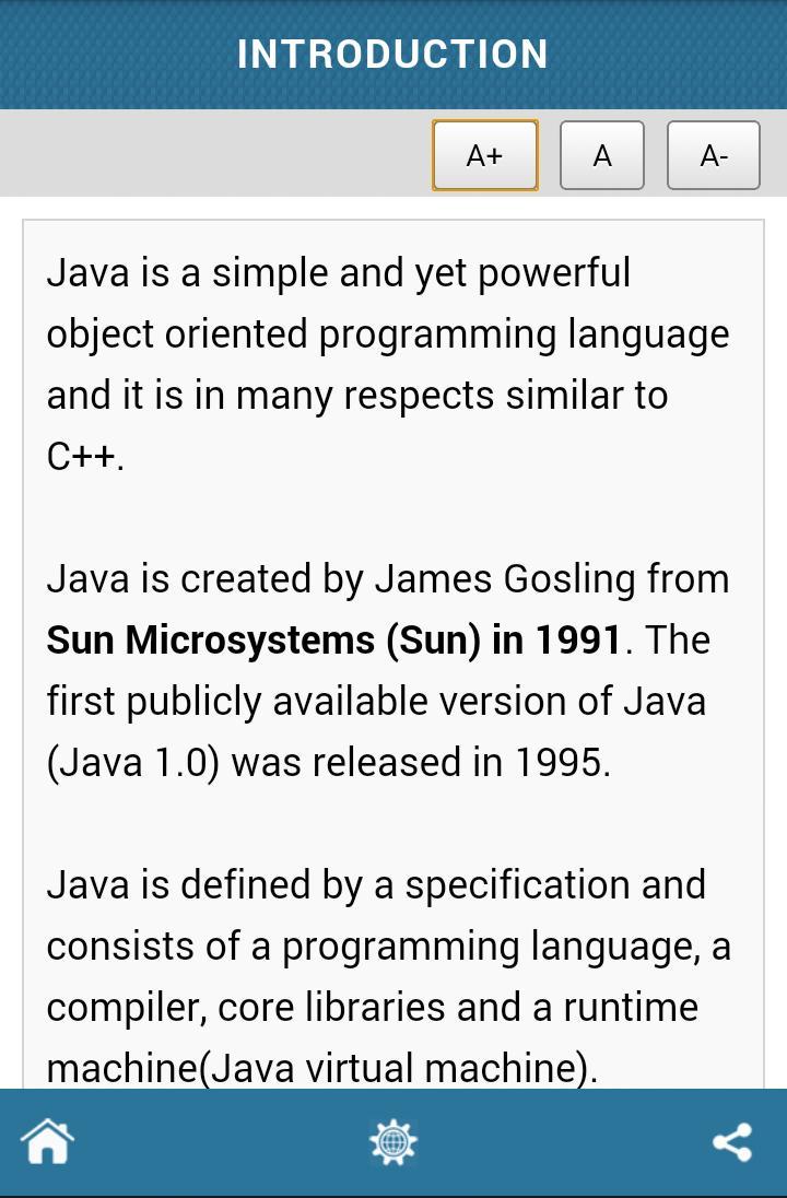 Best Tutorial for Java для Андроид - скачать APK