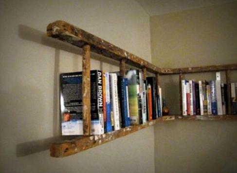 Creative Book shelf Ideas poster