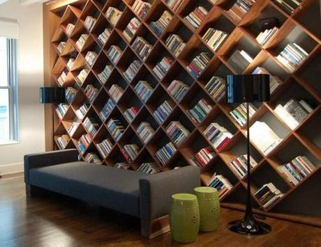 Creative Bookshelf Ideas poster