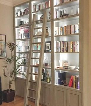 Creative Bookshelf Ideas apk screenshot