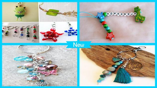 Cool DIY Beads Keychains poster