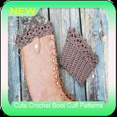 Cute Crochet Boot Cuff Patterns icon