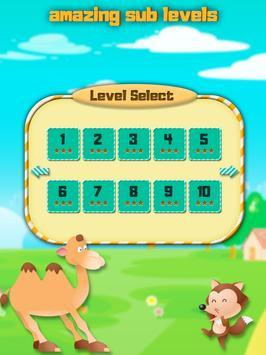Animal card match game apk screenshot