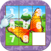 Butterfly Slide Puzzle icon