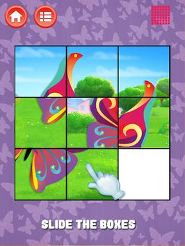 Butterfly Slide Puzzle screenshot 7