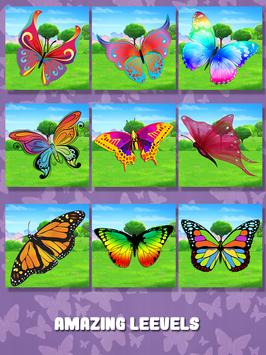 Butterfly Slide Puzzle screenshot 14