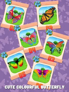 Butterfly Slide Puzzle screenshot 1