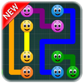Creative Games :  Emoji Connect Game 2018 icon