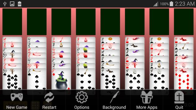 Witch FreeCell Solitaire apk screenshot
