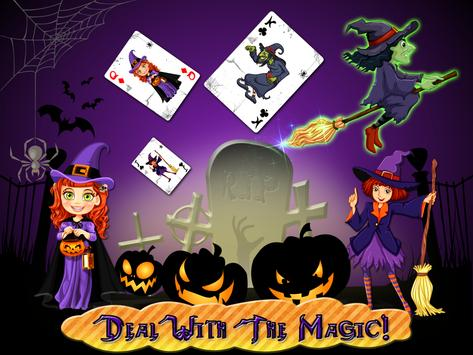 Witch Spider Solitaire poster