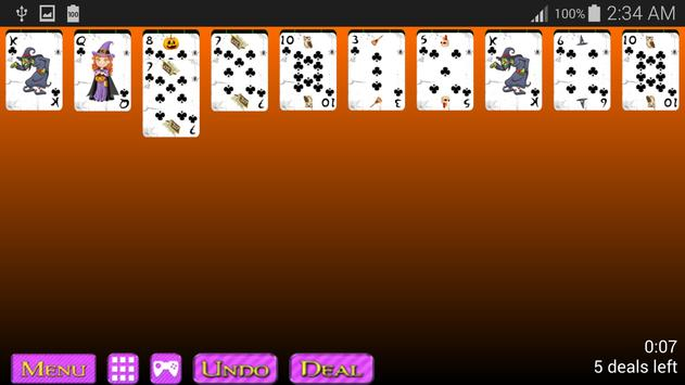 Witch Spider Solitaire screenshot 7