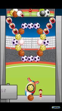 Sporty Bubble Shooter apk screenshot