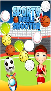 Sporty Bubble Shooter poster