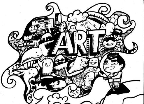 Creative Doodle Art Ideas screenshot 4