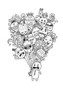 Creative Doodle Art Ideas poster
