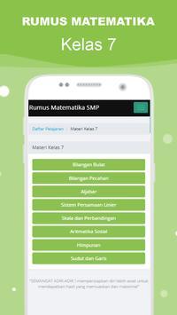 Rumus Matematika SMP Super Lengkap スクリーンショット 10