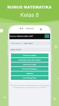 Rumus Matematika SMP Super Lengkap スクリーンショット 11