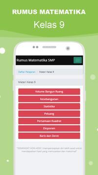 Rumus Matematika SMP Super Lengkap スクリーンショット 12