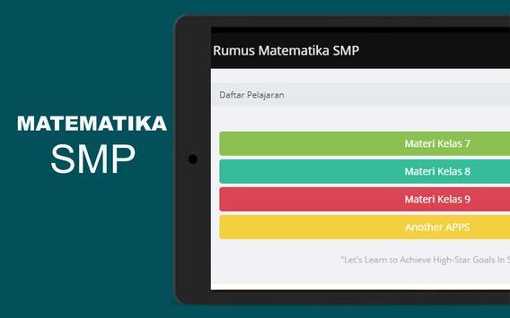 Rumus Matematika SMP Super Lengkap スクリーンショット 16