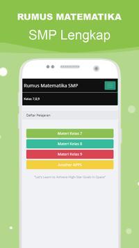 Rumus Matematika SMP Super Lengkap スクリーンショット 1