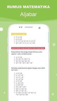 Rumus Matematika SMP Super Lengkap スクリーンショット 23