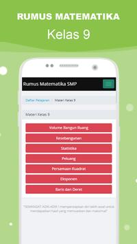 Rumus Matematika SMP Super Lengkap スクリーンショット 4