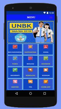 SOAL UNBK SMA/MA IPA IPS 2018 Lengkap screenshot 1
