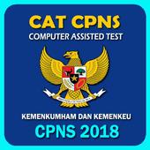 Soal CPNS 2018 - Kemenkumham Kemenkeu icon