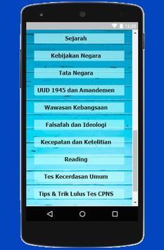 Soal CPNS 2018 - Kemenkumham Kemenkeu screenshot 3