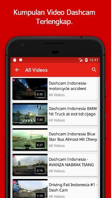 Video Dashcam Indonesia poster