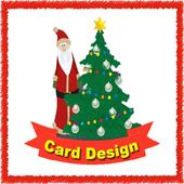 Ideas Christmas Card Design icon