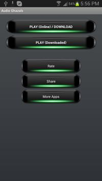 Audio Ghazals Player poster