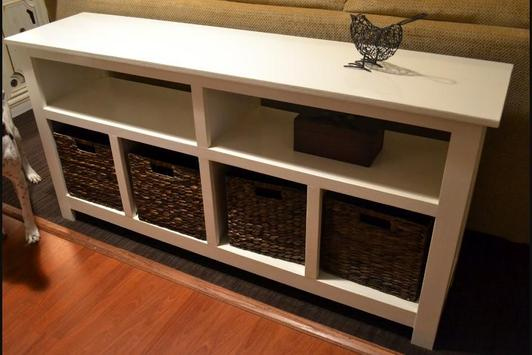 Creative DIY Sofa Table screenshot 2