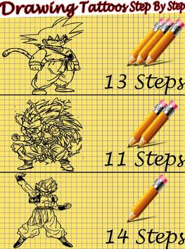 How to Draw DBZ Characters screenshot 1