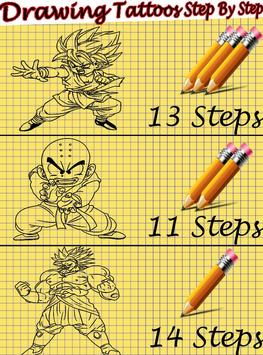 How to Draw DBZ Characters screenshot 7