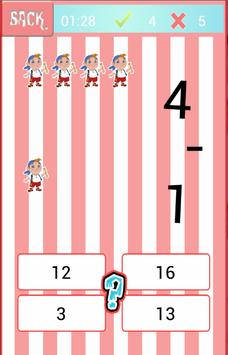 Jake Pirate Easy Math Game apk screenshot