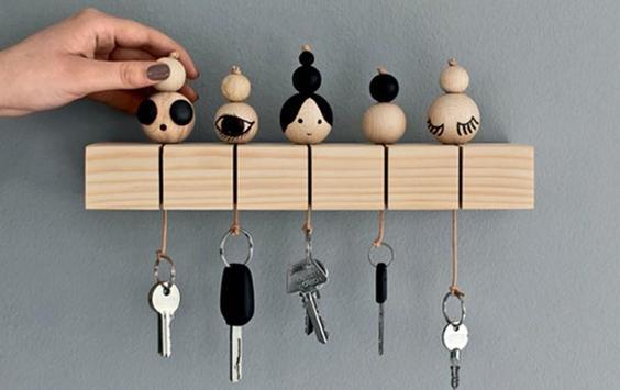 creative key holders and racks ideas screenshot 26