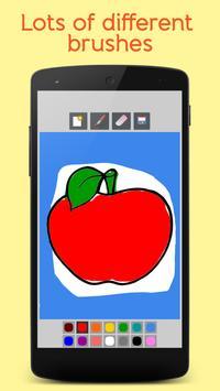 Fruits Coloring Book For Kids screenshot 1