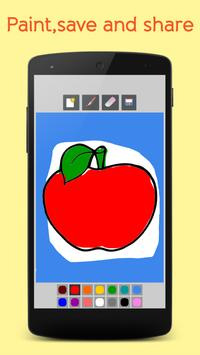 Fruits Coloring Book For Kids screenshot 2