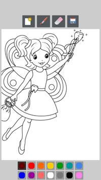 Princess Coloring Book Kids screenshot 11