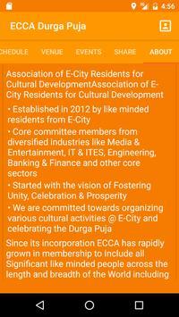 ECCA Durga Puja 2016 apk screenshot