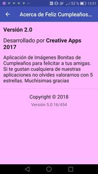 Feliz Cumpleaños Amiga для андроид скачать Apk
