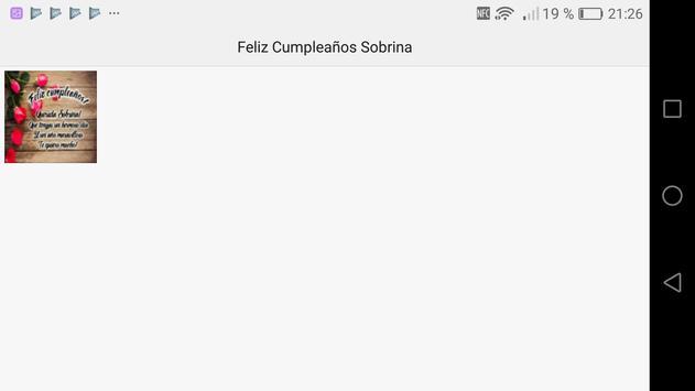 Feliz Cumpleaños Sobrina screenshot 13